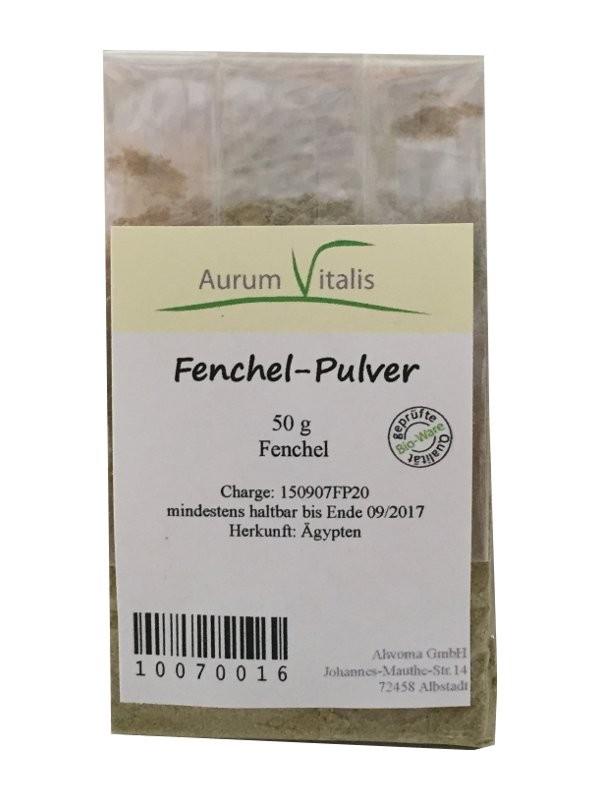 Fenchel-Pulver 50g