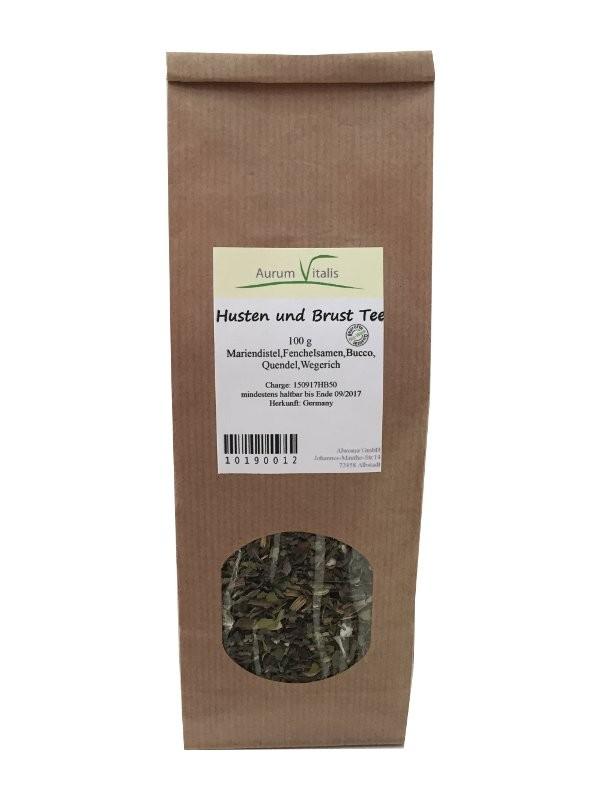 Husten und Brust Tee 100g