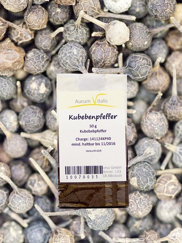 Kubebenpfeffer-Pulver 50g