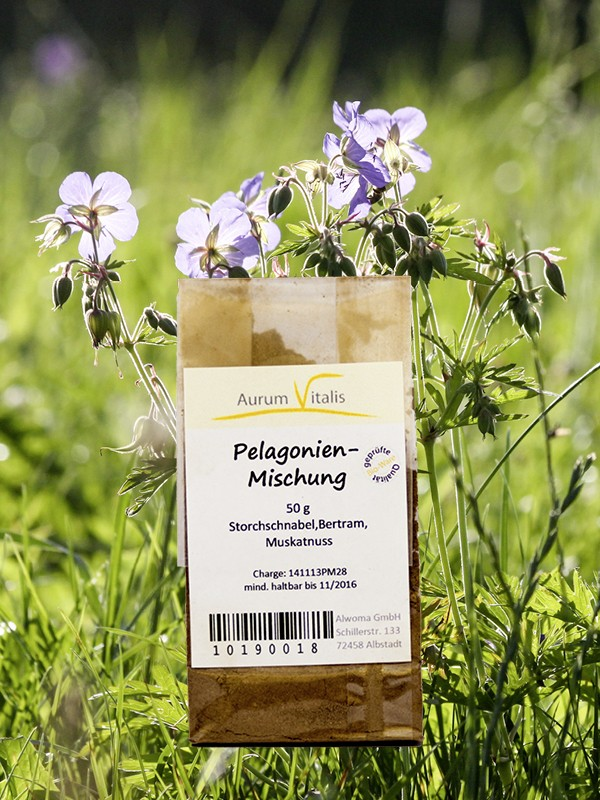 Pelargonien-Mischung 50g