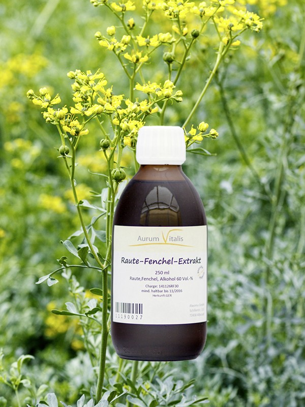 Raute-Fenchel-Extrakt 250ml