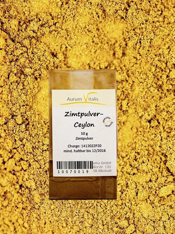 Zimt-Pulver (Ceylon) 50g