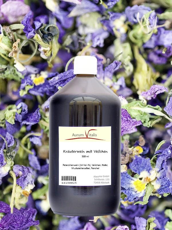 Veilchen-Kräuterwein 500ml