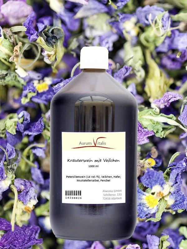 Veilchen-Kräuterwein 1000ml