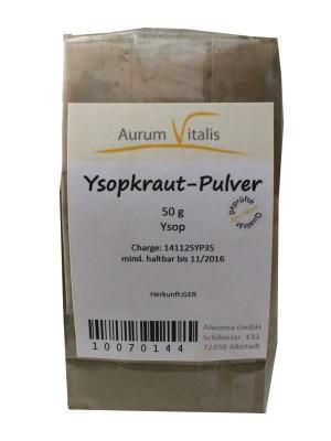 Ysopkraut-Pulver 50g